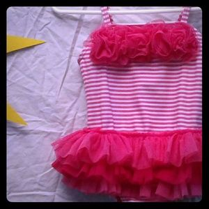 Little Me Infant Girl Size 18m swimming suit